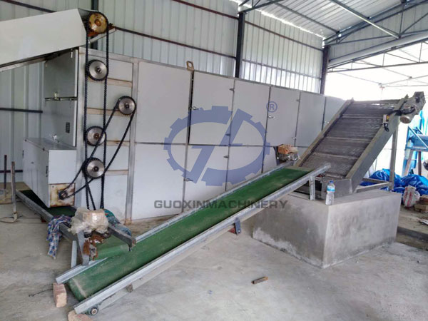 Ginger powder processing line in Nepal