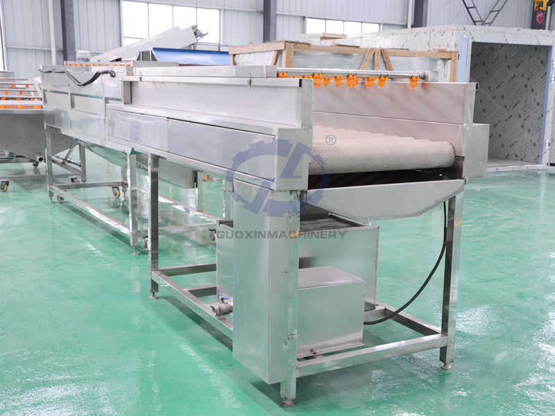 Residue cleaning machine