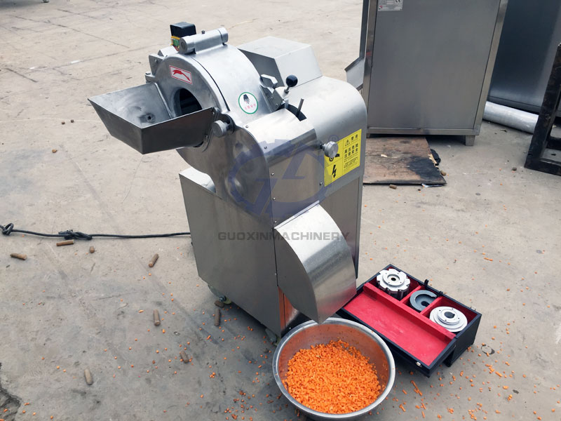 Vegetable and fruit dicing machine