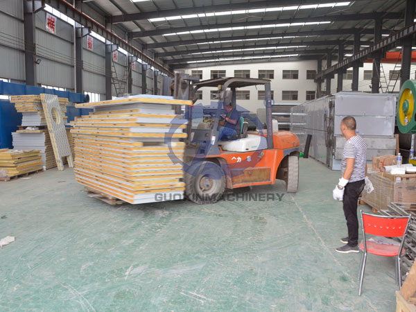 Delivery  beef dryer to Mexico