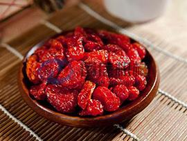 Cherry tomatoes dryer machine