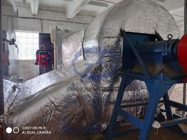 hemp dryer installation site