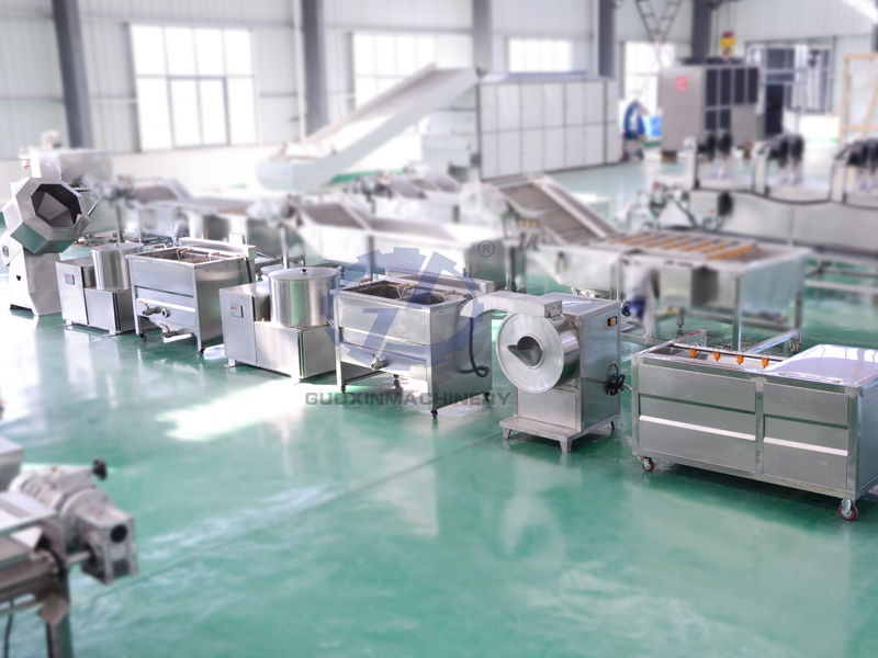 economic type fries potato chips production line