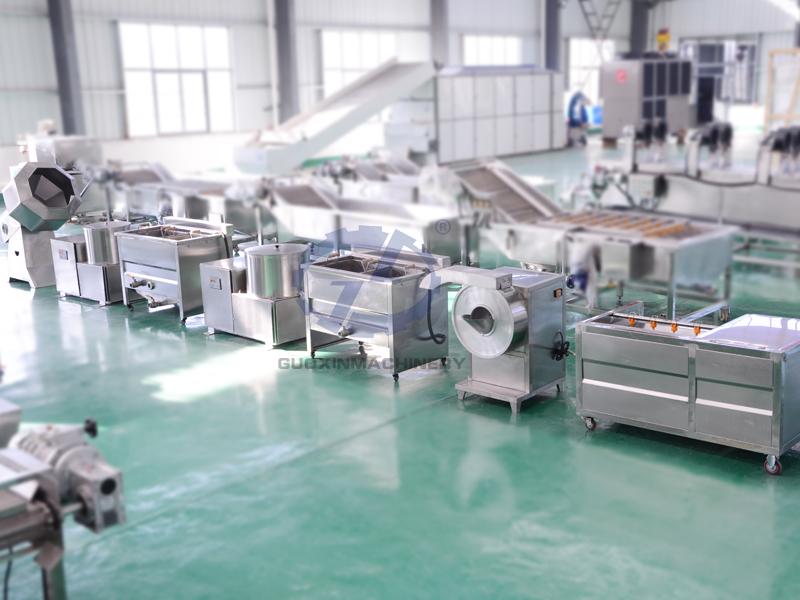 economic type fries potato chips production line