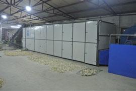 Yam Chips Drying Machine