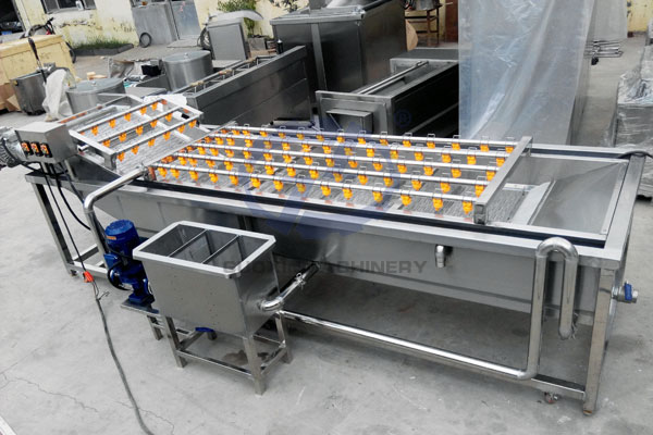 Fruit And Vegetable Air Bubble Cleaning Machine
