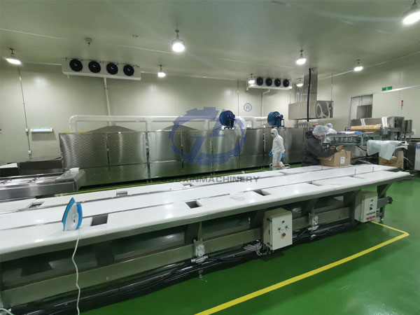 Microwave Re-heat Meal Machine Working Site In Korea