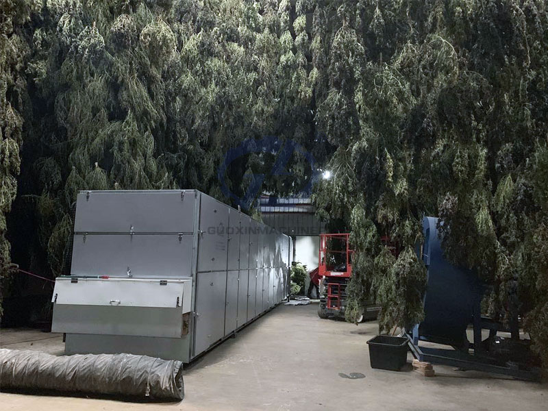 Hemp drying machine