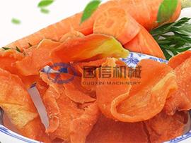 Carrot drying machine