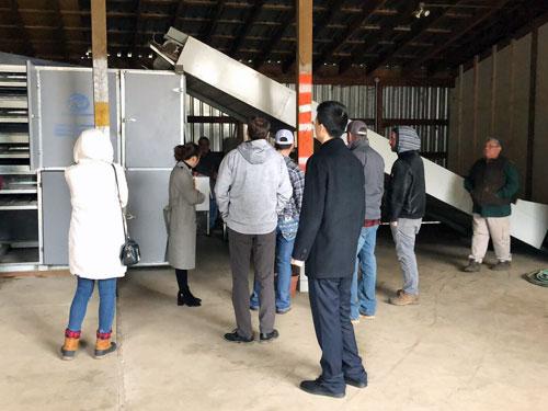 Meeting in Eugene,Oregon USA for hemp drying machine