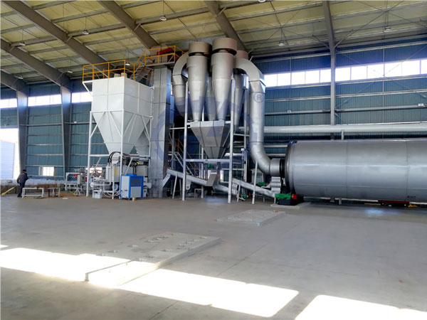 energy-saving multi drum sawdust dryer machine