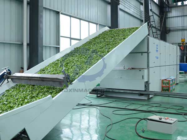 leaf drying machine