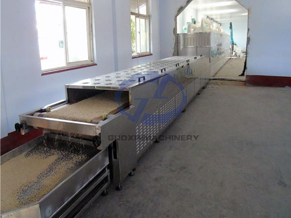 Tunnel Microwave Cat Litter Drying Machine