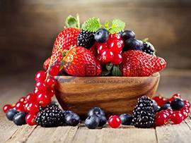 Berries dryer machine