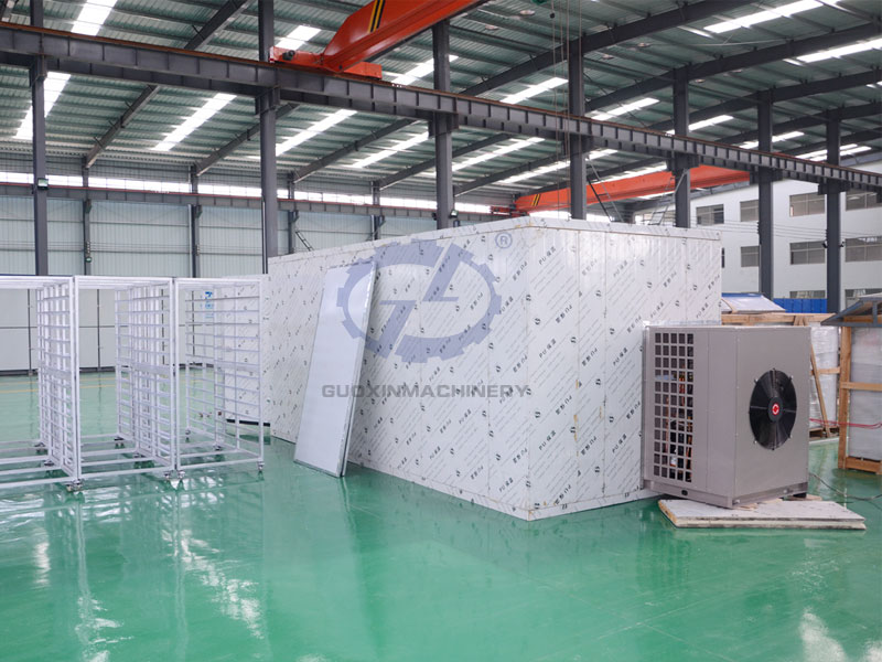 Grape drying machine