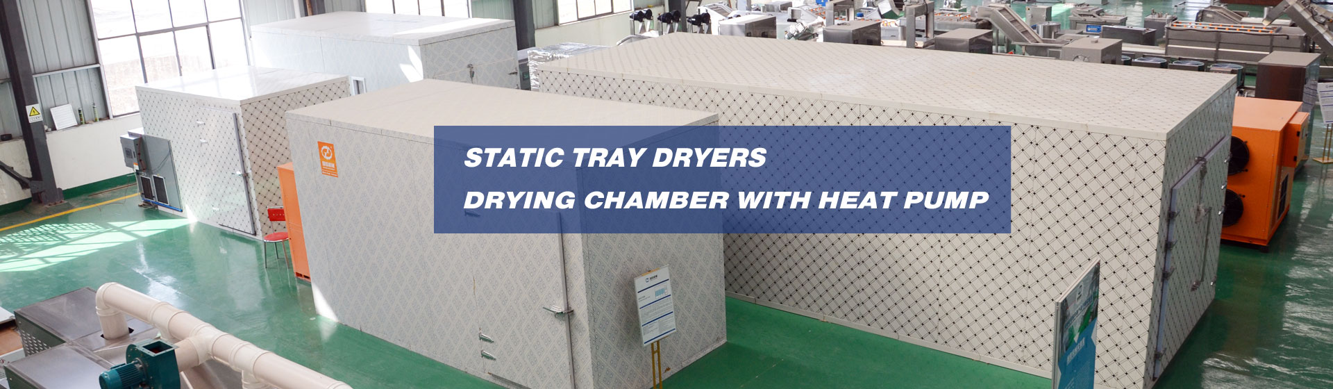 static tray dryer,drying chamber with heat pump